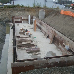 Storm Water Retention Vault